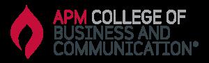 APM College logo på Blueberry.nu