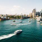 Havsvy över Sydney