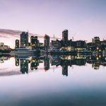 Hamn i Auckland