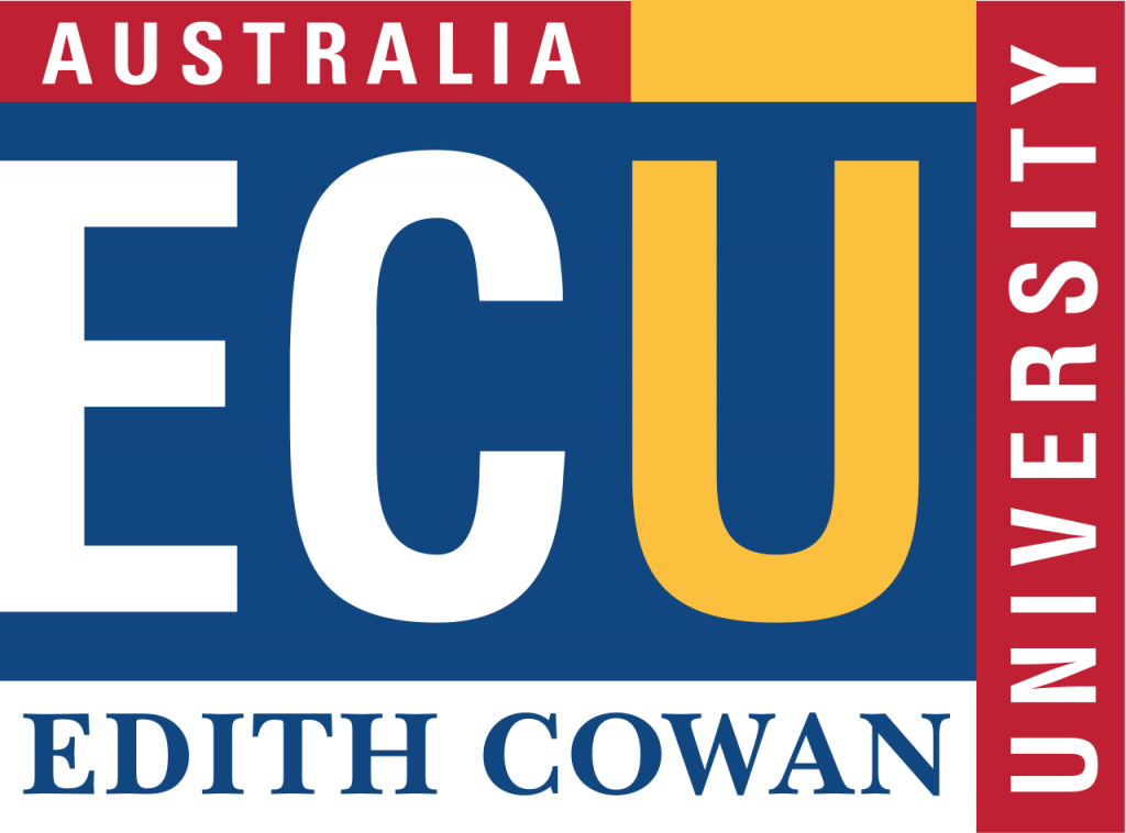 Edith Cowan University logo på blueberry.nu