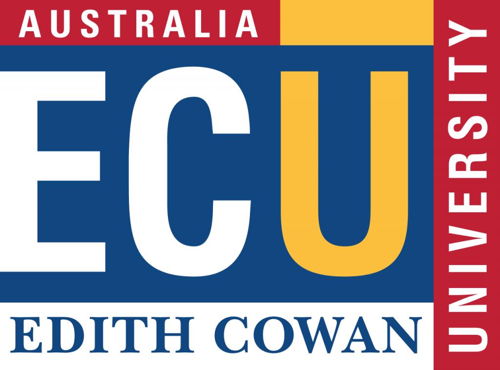 Edith Cowan University logo på blueberry.nu