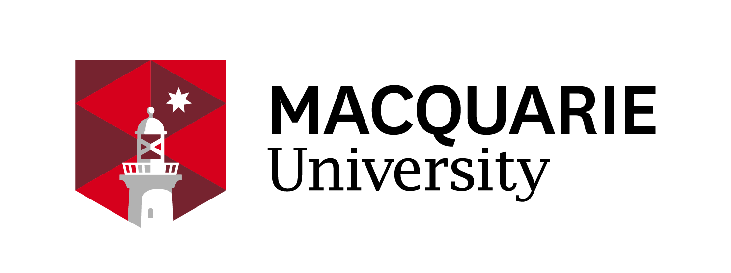 Macquarie University logo på blueberry.nu