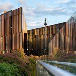 Sydney Macquarie University annan vinkel på fasaden