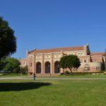 Byggnad på UCLA:s campus