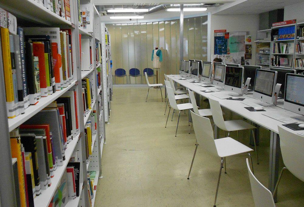 Biblioteket på IED