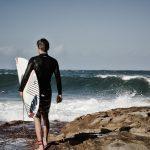 Sydney surfare på stranden