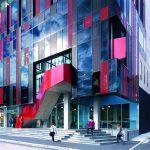 studera utomlands i australien, melbourne, swinburne university of technology, campus building