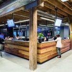 Billy Blue reception och lobby kreativ miljö