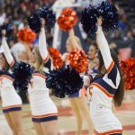 CSU Fullerton cheerleaders