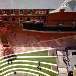 studera utomlands på swinburne university of technology, australien, melbouren, campus, bird view