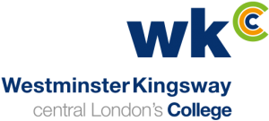Westminster Kingsway College logo på blueberry.nu