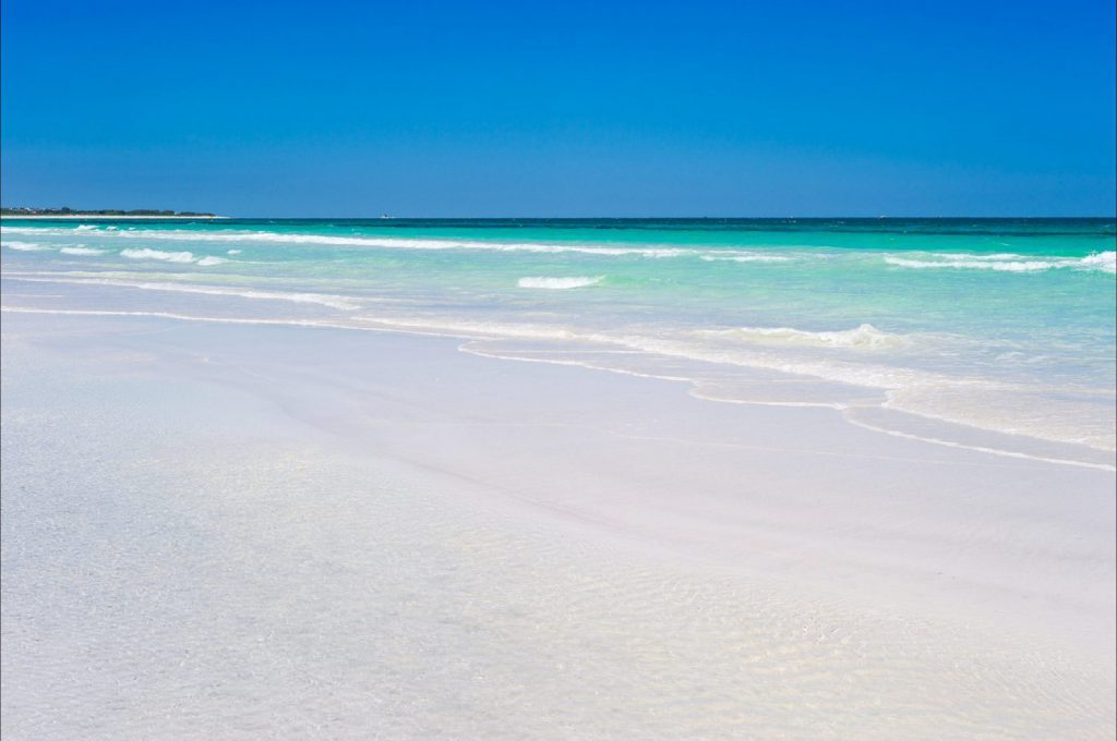 studera på stranden i perth