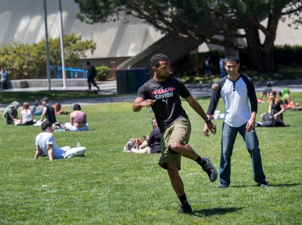 studenter på SFSU