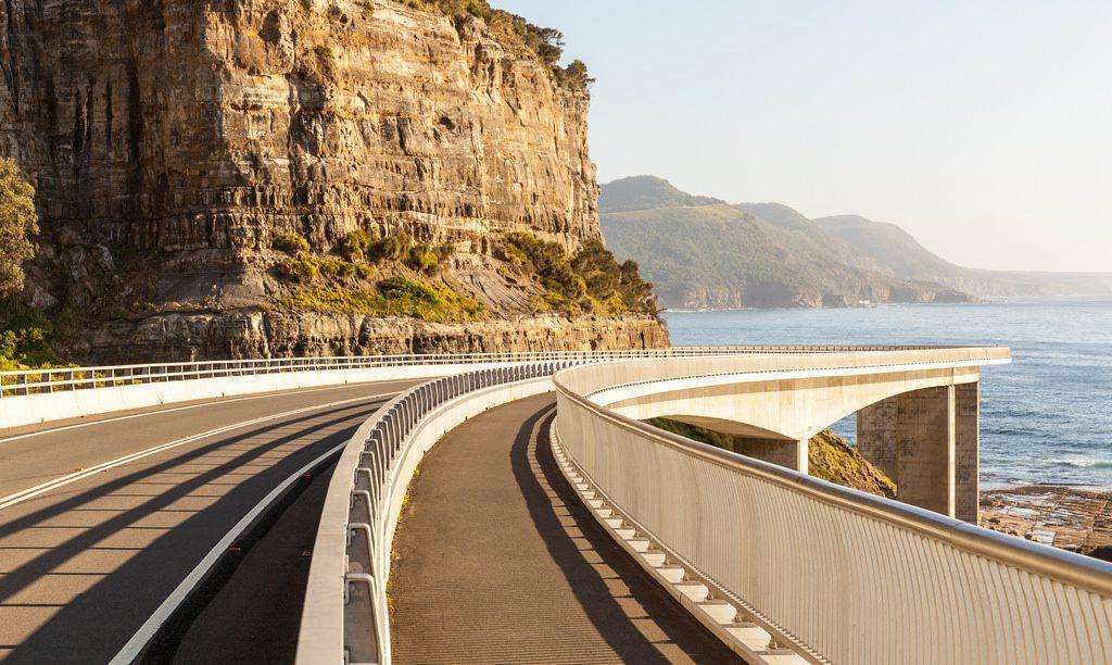 Grand Pacific Drive, Wollongong till Sydney, studera utomlands, University of Wollongong, studera i Australien.