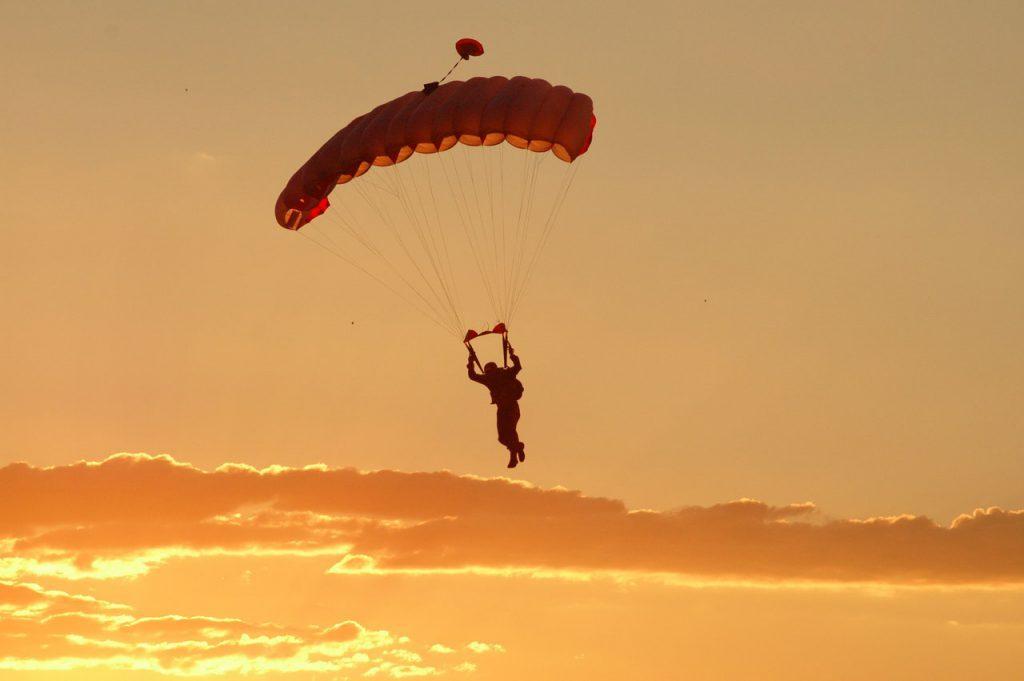 Hoppa fallskärm i Wollongong, fallsärmshoppning, wollongong Australien, Studera i Australien, plugga utomlands