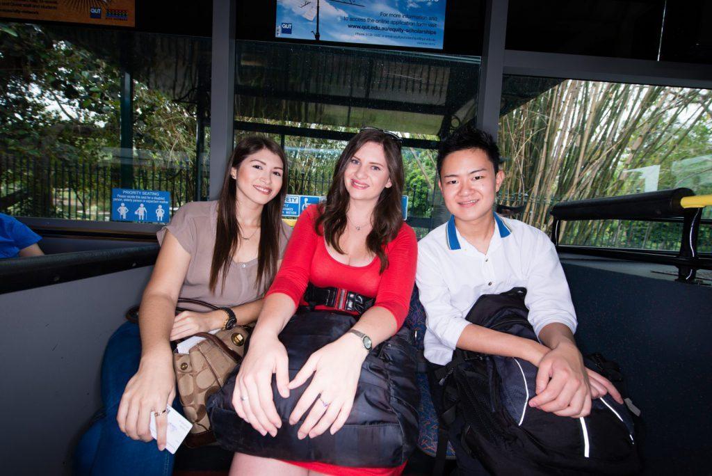 studenter på QUT i Australien