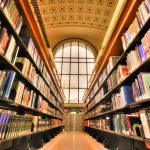 Campus library, UC Berkeley, studera utomlands i USA