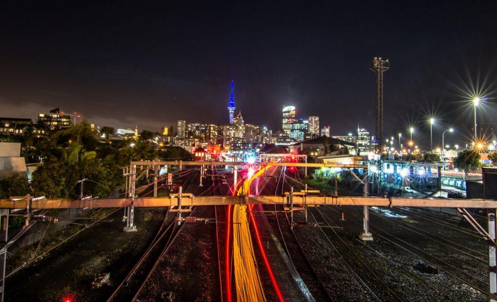 Auckland City, tågspår