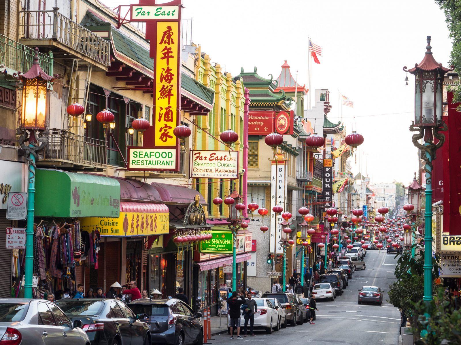 studera utomlands, chinatown, san francisco, san francisco state university