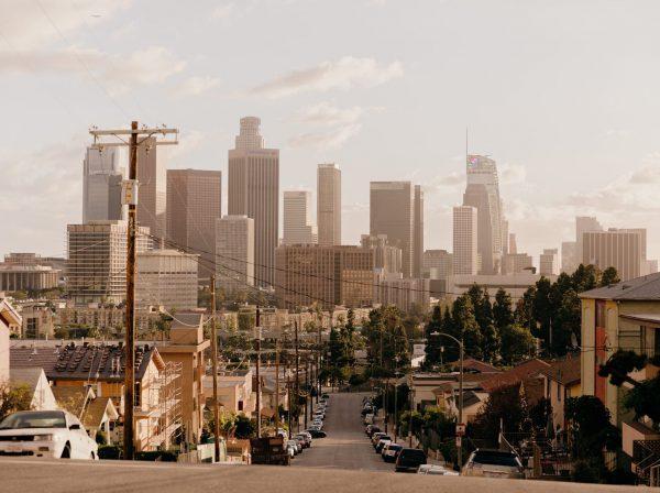 Byggnader i Los Angeles, USA
