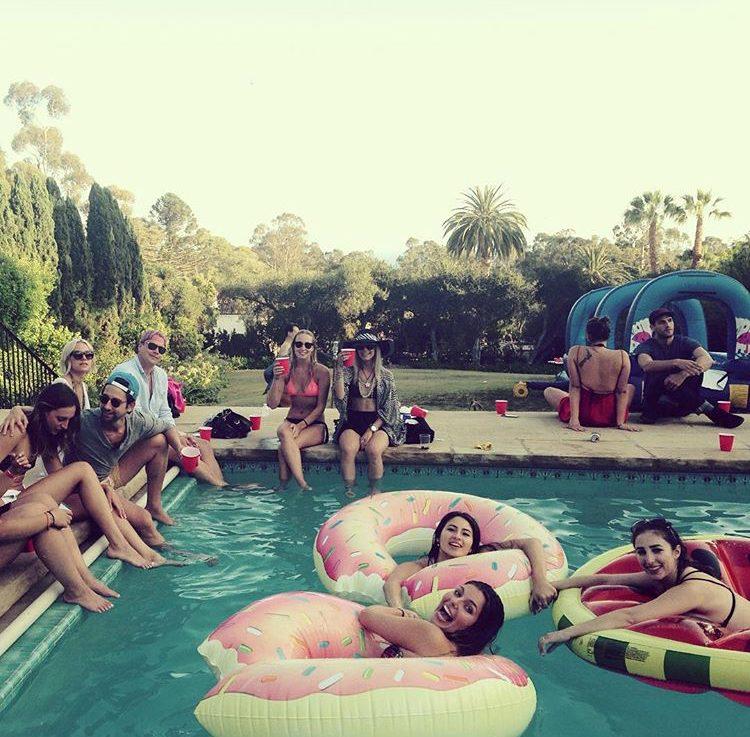 Fun with friends, Santa Barbara City College, Studera utomlands, USA, San Diego State University, Bachelor degree,