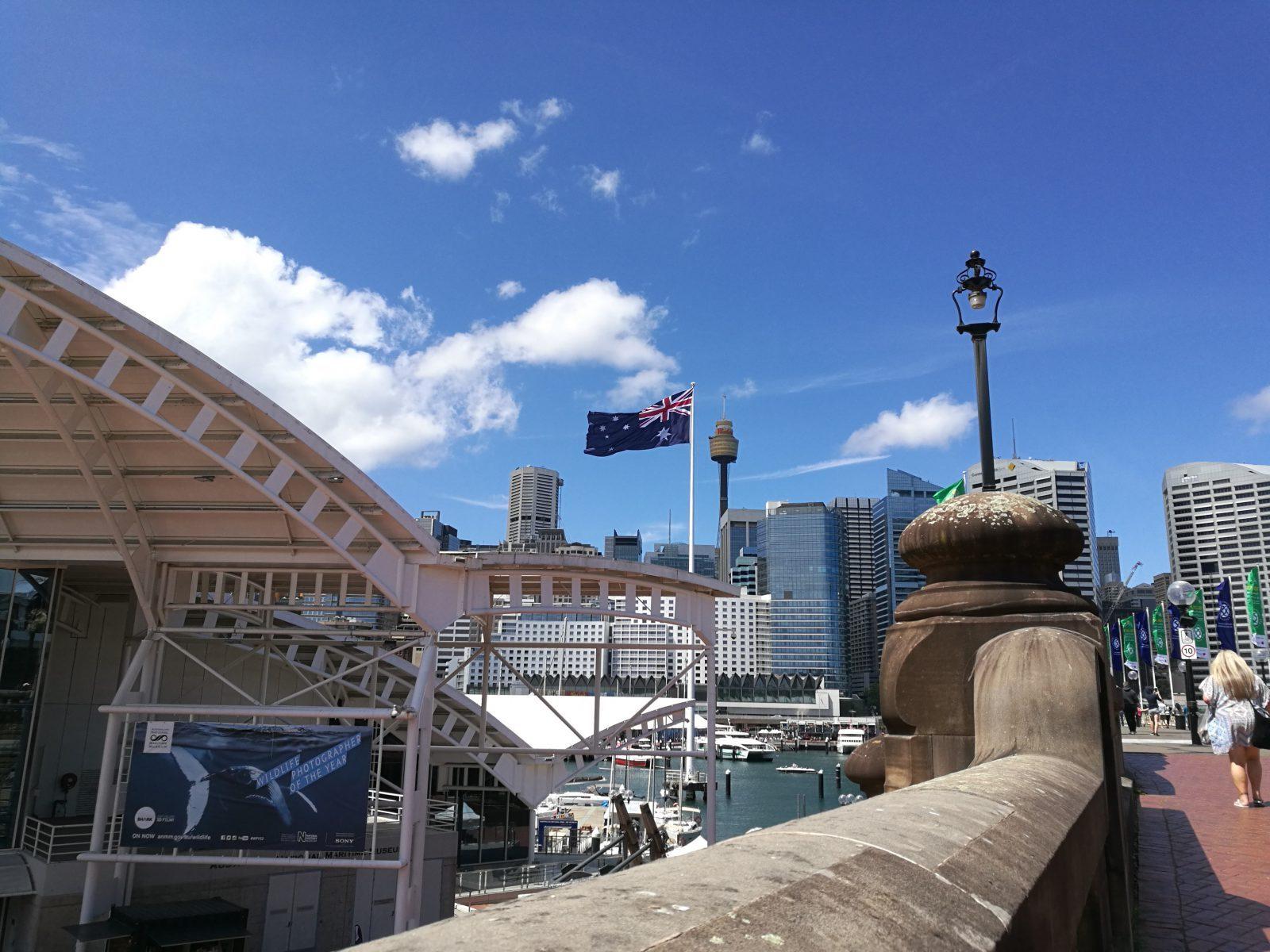 Hamn i Sydney.