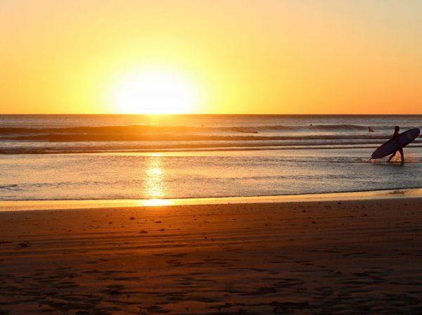 solnedgång, australien, stanna kvar, arbeta, plugga