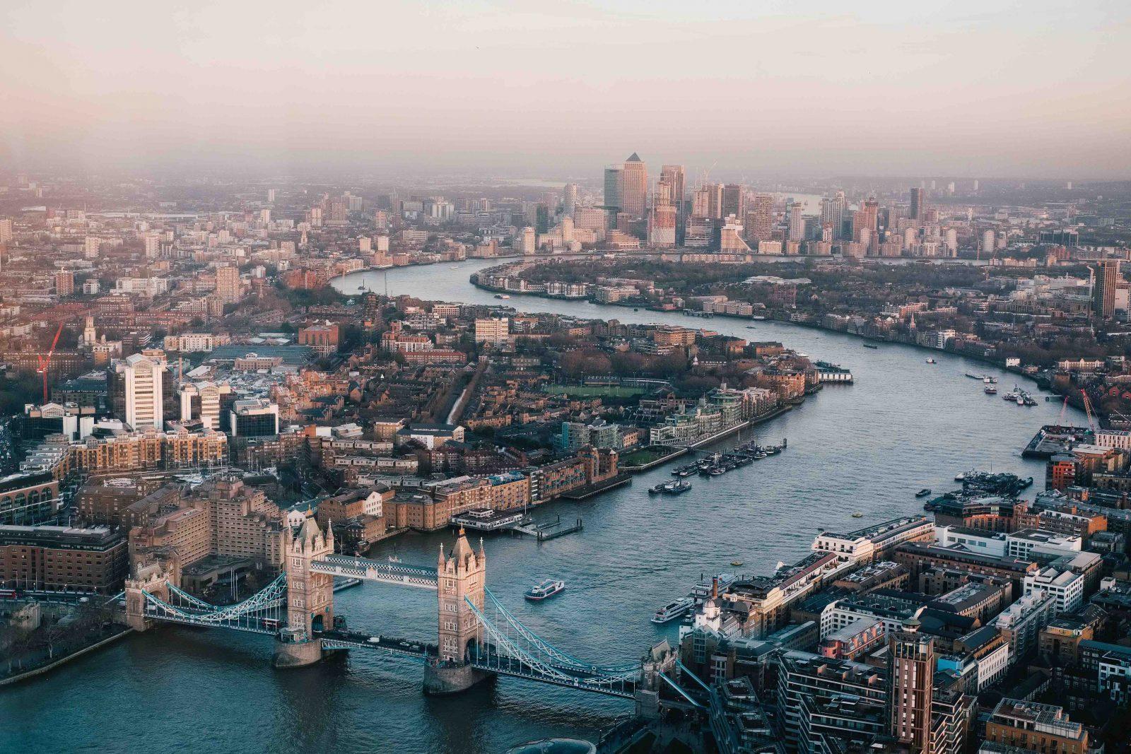 London Utsikt Tower Bridge