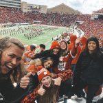 Studenter på amerikansk fotboll