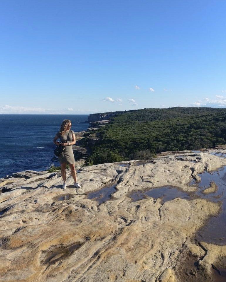 Studera utomlands i Australien på University of Wollongong, som Blueberry studenten Jessica.