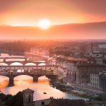 Utlandsstudier i Florens och lär känna nya vänner.