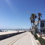 Studer ai Santa Monica och Venice Beach på SMC.