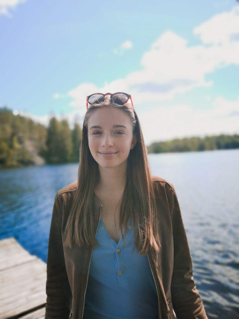 Emma Ekström Blueberryambassadör