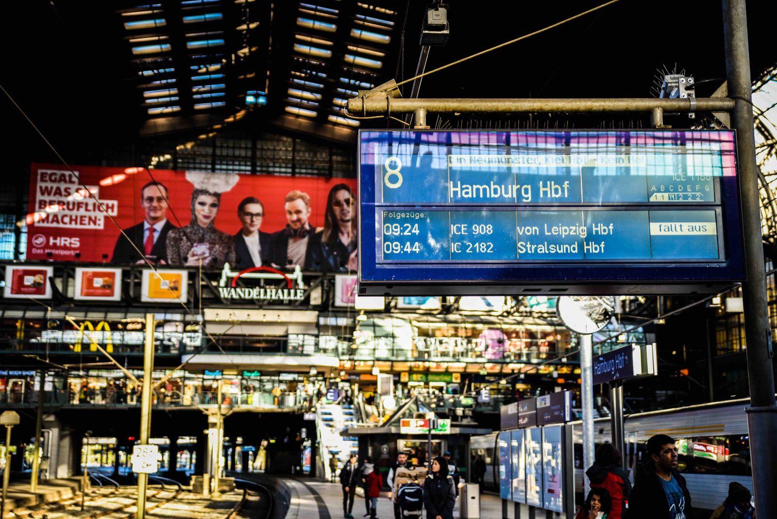 Hamburg centralstation