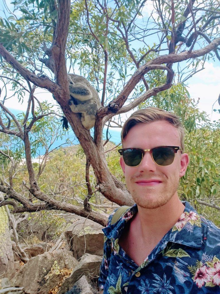 studera på swinburne university of technology, melbourne, australien, blueberry student fabian, koala, äventyr, reseberättelse, studera utomlands, blueberry, blueberry.nu