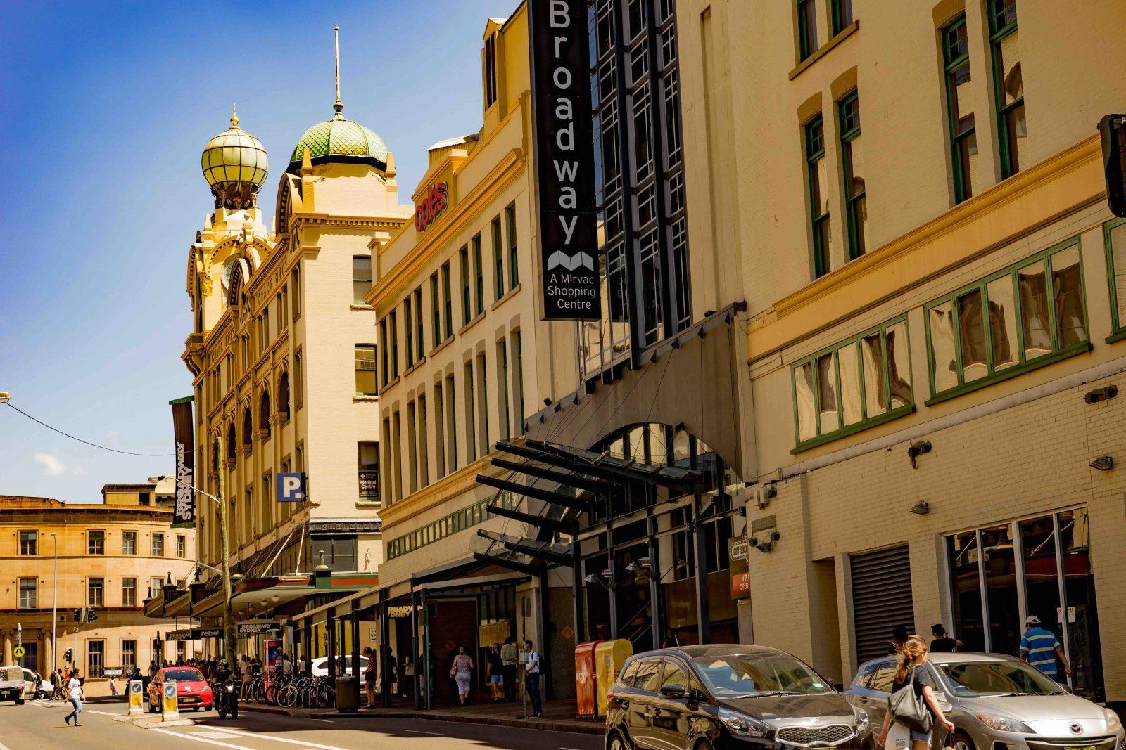 Byggnad i Sydney
