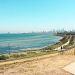 Blueberrystudenten Caroline, AIT, Melbourne, Australien, ansök via blueberry.nu, stranden, Melbourne