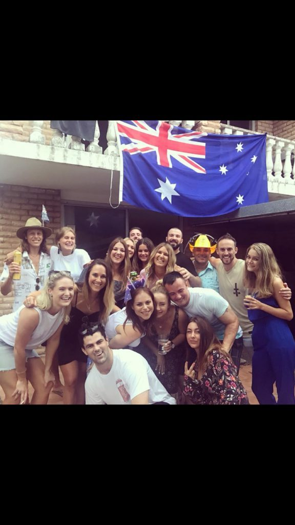 Blueberrystudenten Martina, AIT Alumni, Sydney, Australien, ansök via blueberry.nu, AIT