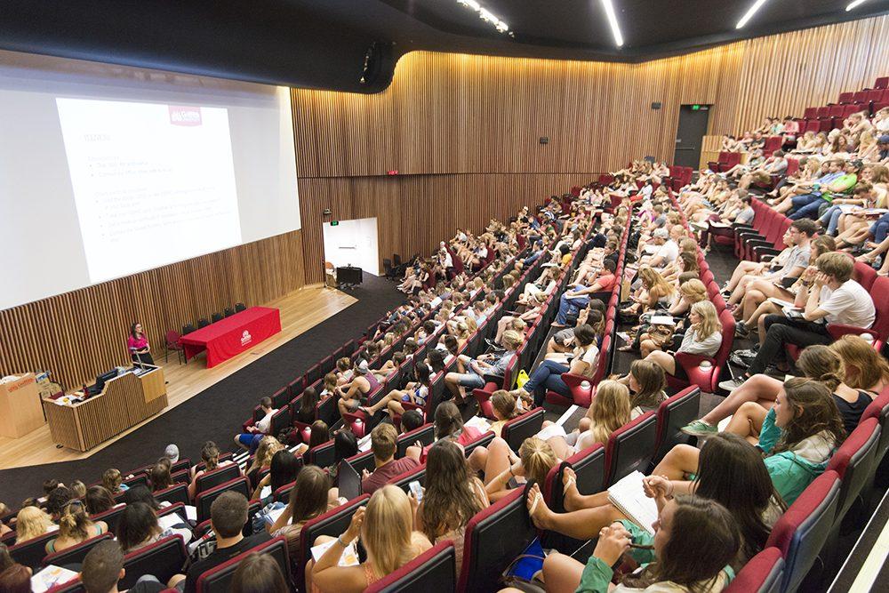 Studera utomlands i Australien, Queensland, Griffith University, Brisbane, Gold Coast, utlandsstudier, ansök via blueberry.nu, studenter, internationella studenter, föreläsningar