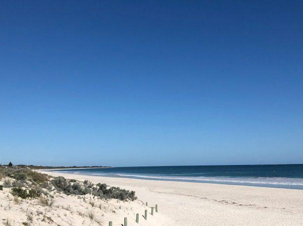 Stipendium vinnare kostnadsfri termin på ECU, Lovisa, Blueberry student, Perth, Australien, Ecith Cowan university, studera utomlands, ansök via blueberry.nu, stranden
