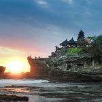 Känd byggnad i Bali
