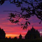 Solnedgång i Bali