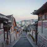 Bukchon Hanok Village i Seoul