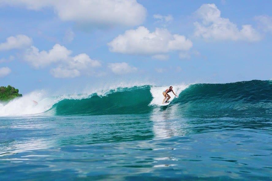Studera på Bali som Frederikke