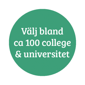 Välj bland ca 100 college & universitet
