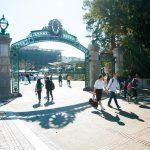 Ingång UC Berkeley campus