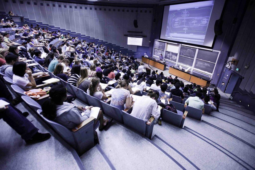 UC Berkeley Föreläsningssal