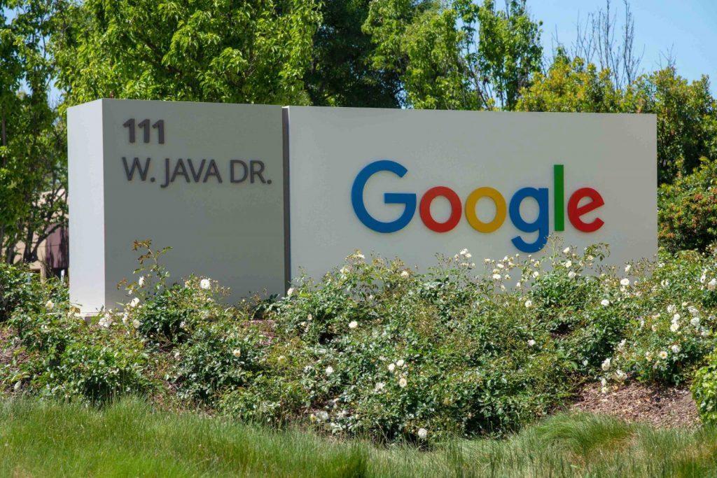Googleskylt
