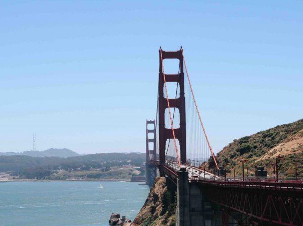 Golden Gate Bridge i San Fransisco