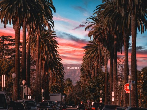 Hollywood-skylten i Los Angeles